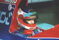 За рулём Jordan в 1994 году.