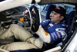 Занарди за рулём своего BMW320i в WTCC