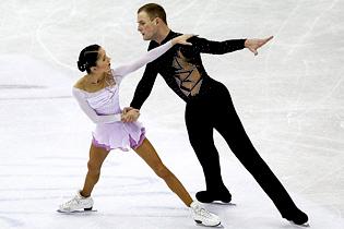 Российская пара Вера Базаров и Юрий Ларионов