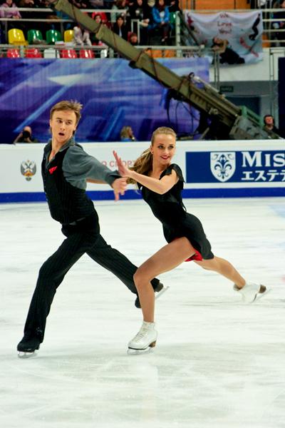Виктория Синицына и Руслан Жиганшин