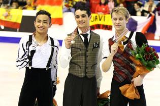 Слева направо: Флоран Амодио, Хавьер Фернандес, Михал Бржезина