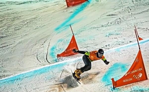 этап Кубка мира по сноуборду в параллельном слаломе