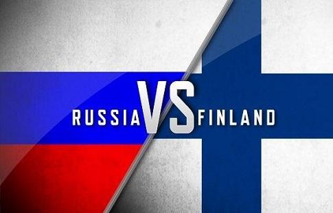 хоккей россия-финляндия фото