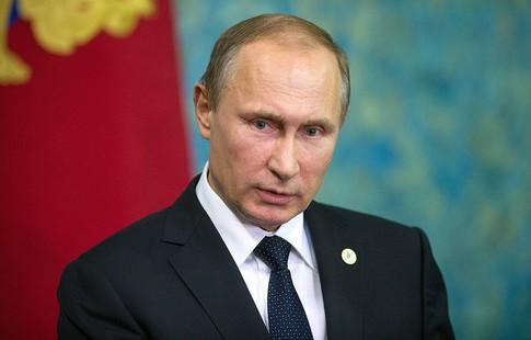 Владимир Путин'Сборная России играла с полной отдачей и замечательно проявила себя
