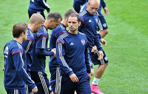 Сборная России опустилась на 38-е место ве ФИФА