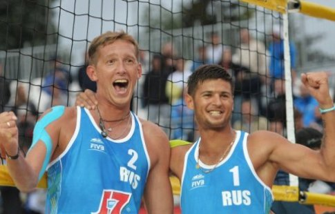 Семенов иКрасильников вышли вполуфинал Олимпиады натурнире попляжному волейболу