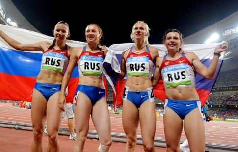 У Российской Федерации задопинг отобрали «золото» женской эстафеты встолице Китая