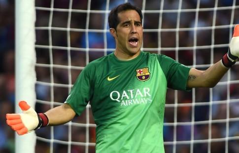 ВратарьФК «Барселона» Браво продолжит карьеру в«Манчестер Сити»