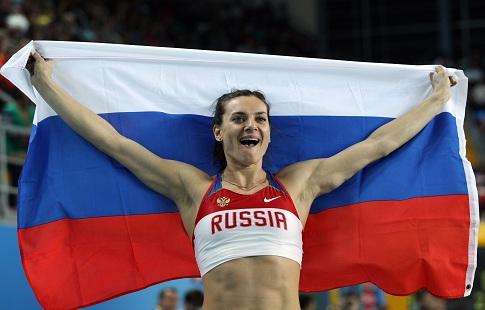 Елена Исинбаева уезжать из РФ несобирается