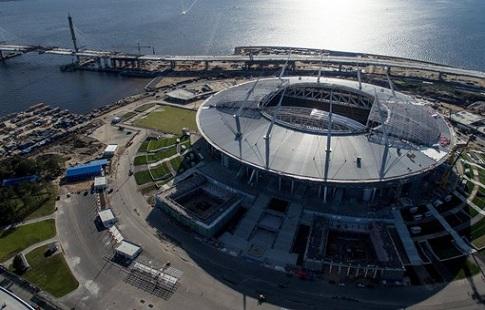 Новый стадион вПетербурге примет матчи РФПЛ вапреле-мае будущего года