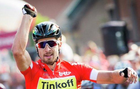 Саган из«Тинькофф» стал лучшим велогонщиком Мирового тура