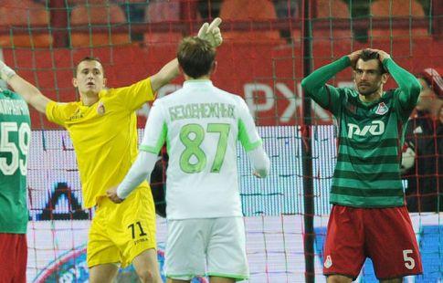 «Локомотив» проиграл «Уфе» втоварищеском матче