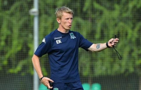 Калешин назначен исполняющим обязанности основного тренера «Кубани»