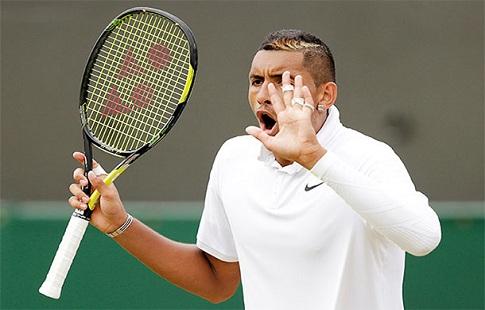 Теннисист Ник Киргиос оштрафован на $25 тыс. идисквалифицирован надва месяца