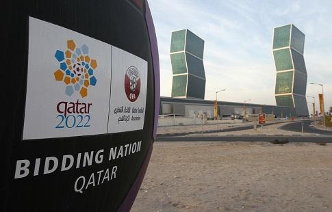 Рабочий умер вовремя строительства стадиона ЧМ-2022 вКатаре