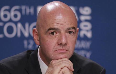Инфантино выступил завведение ограничения начисло игроков всоставах клубов