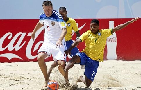 Вплей-офф «пляжники» РФвсегда превосходно играли сБразилией— Лихачёв