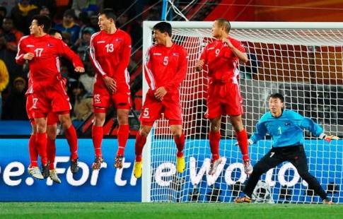Вратаря сборной Северной Кореи наказали дома за несуразный пропущенный гол