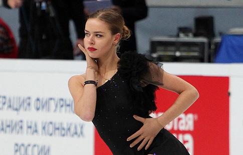 Элизабет Турсынбаева заняла 4-ое место вкороткой программе Rostelecom Cup