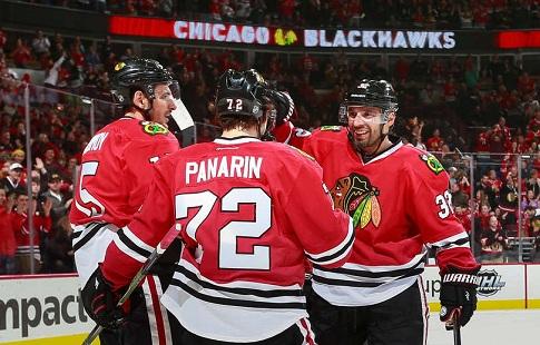 Анисимов принёс 6-ю подряд победу «Чикаго» ивновь стал первым бомбардиром НХЛ