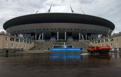 Комиссия ФИФА вновь рассматривает «Зенит— Арену»