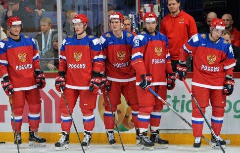 Молодежная сборная РФ уступила юниорской лиге Квебека взаключительном матче Суперсерии