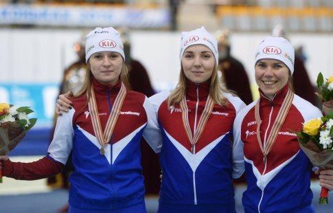 Конькобежка Юракова заняла 3-е место наэтапе Кубка мира