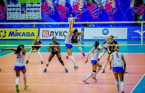 Краснодарское «Динамо» уступило «Визуре» вматче волейбольной Лиги чемпионов