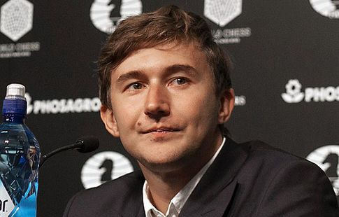 Житель россии Сергей Карякин победил Магнуса Карлсена в 8-ой партии