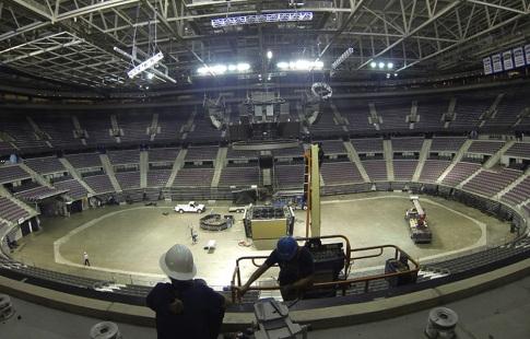 Клуб НБА «Детройт Пистонс» переезжает на новейшую арену