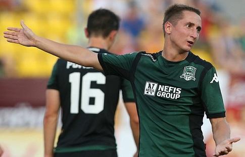 Игрок «Краснодара» Газинский получил перелом носа после удара игрока «Зенита» Гарсии