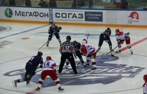 «Амур» прошляпил победу над ЦСКА— Хоккей сшайбой