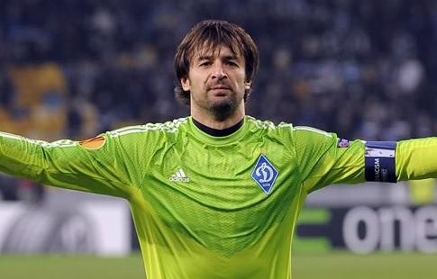 Ребров: «Шовковский заканчивает работу вДинамо как футболист»