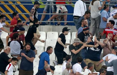 Осуждённых вМарселе русских фанатов могут освободить доконца года