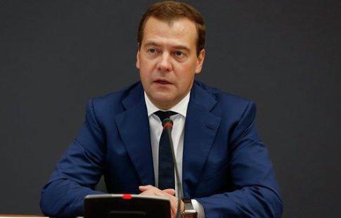 Вот, что проинформировал премьер Д. Медведев оситуации в русском ЖКХ