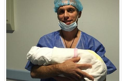 Глушаков во 2-ой раз стал отцом