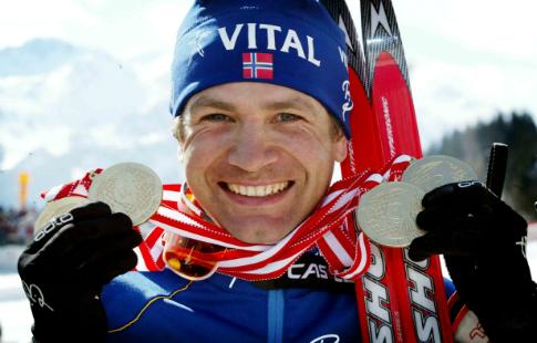 Бьорндален назвал русских биатлонистов невиновными вприеме допинга