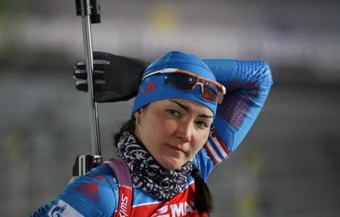 Биатлонистка Акимова завоевала бронзу впреследовании наэтапеКМ