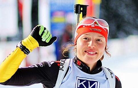 Биатлонистка Коукалова выиграла масс-старт вНове-Место, Акимова— 10-я