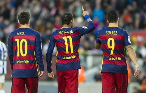 «Барселона» разгромила «Эспаньол» вматче чемпионата Испании
