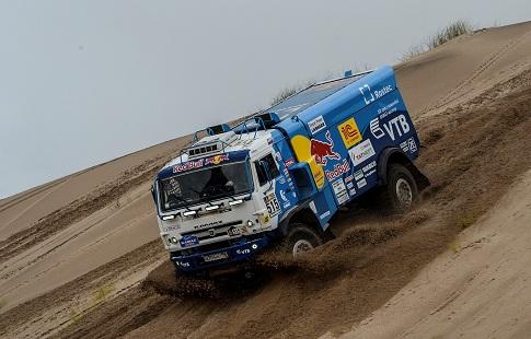 Экипаж Николаева одержал победу 11 этап «Дакара» взачете фургонов