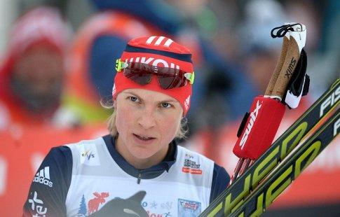 Русская лыжница Матвеева стала первой вспринтерской гонке наКМ вИталии