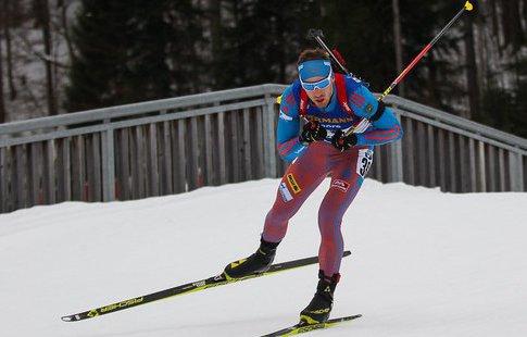 Биатлонист Антон Шипулин стал 4-м вгонке преследования
