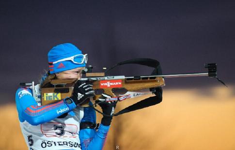 Немка Хорхлер выиграла масс-старт наэтапеКМ побиатлону вАнтерсельве