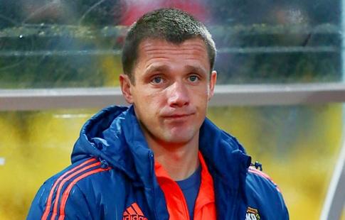 Виктор Гончаренко'ЦСКА сегодня показал достаточно хорошую игру