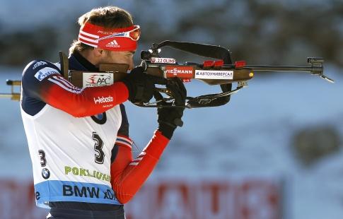 Российская Федерация стала бронзовым призером смешанной эстафеты наЧМ побиатлону