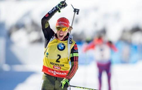 Германский биатлонист Шемпп одержал победу масс-старт начемпионате мира, Шипулин— четвертый