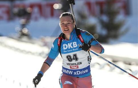 Биатлонистка Подчуфарова преждевременно завершила выступления втекущем сезоне