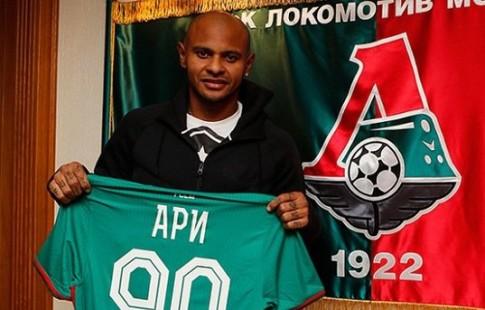 Ари несможет посодействовать «Локомотиву» вматче с«Краснодаром»