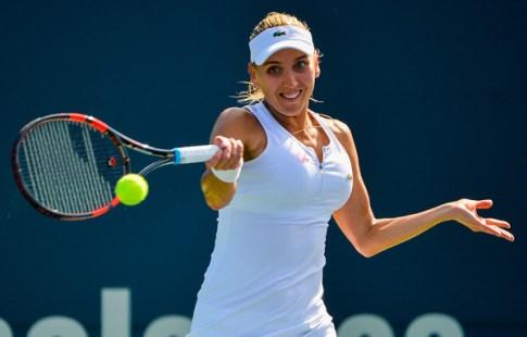 Веснина обыграла Кербер в 4-м раунде теннисного турнира вИндиан-Уэллсе